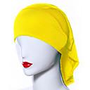 رخيصةأون أوشحة نسائية-حجاب لون سادة نسائي - شبكة أساسي