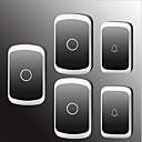 povoljno Sigurnosni senzori-Factory OEM Bez žice Dva do tri vrata Glazba / Ding Dong Non-visual doorbell