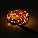 povoljno LED svjetla u traci-10m Žice sa svjetlima 100 LED diode Narančasto Party 220-240 V 1set