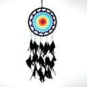 رخيصةأون أدوات الحمام-حلم الماسك اليدوية مع ريشة بوهيميا الهند نمط الجدار الديكور