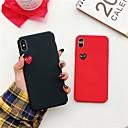 voordelige iPhone-hoesjes-seizoensgebonden hoesje voor apple iphone xr xs xs max ultradunne / frosted / patroon achterkant hart harde pc voor iphone x 8 8 plus 7 7 plus 6s 6s plus se 5 5s