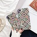رخيصةأون أغطية أيفون-غطاء من أجل Apple iPhone XS / iPhone XR / iPhone XS Max حامل الخاتم / نحيف جداً / مثلج غطاء خلفي زهور قاسي الكمبيوتر الشخصي