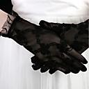 ieftine Mănuși & Mănuși 1 deget-Dantelă Lungime Încheietură Mănușă Stilat / Mănuși Cu Broderie