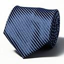رخيصةأون ربطات عنق-ربطة العنق مخطط رجالي عمل / أساسي