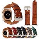 povoljno Auto unutrašnja svjetla-Pogledajte Band za Apple Watch Series 4/3/2/1 Apple Klasična kopča Prava koža Traka za ruku