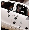 رخيصةأون جسم السيارة الديكور والحماية-أبيض / أسود Car Stickers كرتون / الرياضات / لطيف ملصقات الباب / ملصقات السيارات الذيل كارتون ملصقات