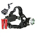 cheap Headlamps-U'King Headlamps Headlight 2000 lm LED LED Emitters 3 Mode with Batteries and Charger Compact Size High Power Easy Carrying Multifunction Camping / Hiking / Caving Everyday Use Cycling / Bike