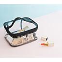 رخيصةأون خزانة المكياج و المجوهرات-PVC مستطيل تحمل الصفحة الرئيسية منظمة, 1PC تخزين الماكياج / الفتيات و النساء / حقيبة مستحضرات التجميل
