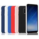 رخيصةأون حافظات / جرابات هواتف جالكسي A-غطاء من أجل Samsung Galaxy A6 (2018) / A6+ (2018) / Galaxy A7(2018) مثلج غطاء خلفي لون سادة ناعم سيليكون