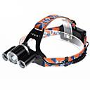 povoljno Svjetiljke za glavu-U'King ZQ-X820 Svjetiljke za glavu Svjetlo za bicikle Može se puniti 2000 lm LED LED 3 emiteri 4.0 rasvjeta mode Može se puniti Alarm Kompaktna veličina Jednostavno za nošenje Kampiranje