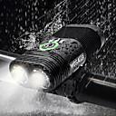 رخيصةأون Nokia أغطية / كفرات-ثنائي ليد اضواء الدراجة ضوء الدراجة الأمامي مصابيح الدراجة مصباح يدوي الدراجة ركوب الدراجة ضد الماء قابلة لإعادة الشحن وسائط متعددة سطوع رائع USB 2400 lm قابلة لإعادة الشحن USB أبيض أخضر - WOSAWE
