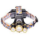 رخيصةأون أندرويد-U'King مصابيح أمامية مصابيح الدراجة 3000 lm LED LED بواعث 3 إضاءة الوضع زوومابلي Adjustable Focus حجم مصغر عالية الطاقة سهل الحمل Camping / Hiking / Caving Everyday Use أخضر / معدن الألمنيوم