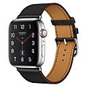 billige Apple Watch-remmer-Klokkerem til Apple Watch Series 4/3/2/1 Apple Forretningsband Ekte lær Håndleddsrem