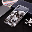 levne iPhone pouzdra-Carcasă Pro Apple iPhone XS / iPhone XR / iPhone XS Max Průhledné / Vzor Zadní kryt Lebky Měkké TPU