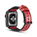 رخيصةأون أغطية أيفون-حزام إلى Apple Watch Series 4/3/2/1 Apple بكلة كلاسيكية جلد طبيعي شريط المعصم