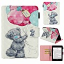 رخيصةأون كماشة-غطاء من أجل Amazon Kindle PaperWhite 4 حامل البطاقات / ضد الصدمات / نموذج غطاء كامل للجسم حيوان قاسي جلد PU