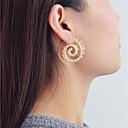povoljno Naušnice-Žene Okrugle naušnice Geometrijski Mértani Moda Naušnice Jewelry Zlato Za Dnevno Spoj 1 par