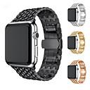 povoljno Narukvice-Pogledajte Band za Apple Watch Series 5/4/3/2/1 Apple Moderna kopča Nehrđajući čelik Traka za ruku
