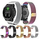 voordelige Apple Watch-bandjes-Horlogeband voor Fenix 5s / Fenix 5s Quickfit Garmin Milanese lus Roestvrij staal Polsband