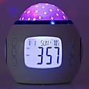 رخيصةأون المكياج & العناية بالأظافر-1PC ساعة منبهة الصمام ليلة الخفيفة ثلاثية الألوان بطاريات آ بالطاقة إبداعي <=36 V