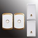 povoljno Broševi-Bez žice Dva do dva vrata Glazba / Ding Dong Non-visual doorbell Montirano na površini