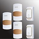 povoljno Broševi-Bez žice Dva do tri vrata Glazba / Ding Dong Non-visual doorbell