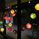 povoljno LED svjetla u traci-3M Žice sa svjetlima 20 LED diode Više boja Ukrasno 220-240 V 1set