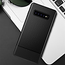 رخيصةأون حافظات / جرابات هواتف جالكسي S-غطاء من أجل Samsung Galaxy S9 / S9 Plus / S8 Plus مطرز غطاء خلفي لون سادة ناعم TPU
