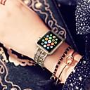 olcso Akvárium Melegítők és hőmérők-Ötvözet Nézd Band Szíj mert Apple Watch Series 4/3/2/1 Fekete / Ezüst / Arany 18cm / 7 hüvelyk 2.2cm / 0.9 inch