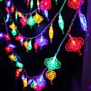 baratos Fitas e Mangueiras de LED-5 m chinês nó string luzes 40 leds multi cor ano novo casa decorativa 220-240 v 1 conjunto