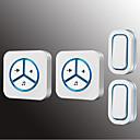 رخيصةأون حافظات / جرابات هواتف جالكسي A-Factory OEM لاسلكي اثنين إلى اثنين من الجرس موسيقى / دينغ دونغ جرس الباب غير المرئية في السطح