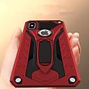 رخيصةأون أغطية أيفون-غطاء من أجل Apple iPhone XS / iPhone XR / iPhone XS Max ضد الصدمات / مع حامل غطاء خلفي درع قاسي TPU