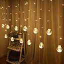 povoljno LED svjetla u traci-2.5m Žice sa svjetlima 12 LED diode Toplo bijelo / Bijela / Više boja Kreativan / Party / Ukrasno USB napajanje 1pc