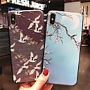 voordelige Galaxy A7(2016) Hoesjes / covers-hoesje Voor Apple iPhone XS / iPhone XR / iPhone XS Max Mat / Patroon Achterkant dier / Boom / Bloem Zacht TPU