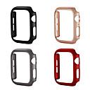 رخيصةأون أساور ساعات هواتف أبل-غطاء من أجل Apple Apple Watch Series 4 / Apple Watch Series 4/3/2/1 / Apple Watch Series 3 بلاستيك Apple