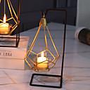 رخيصةأون Home Fragrances-الحديث المعاصر / أسلوب بسيط زجاج / الحديد Candle Holders حداثة / شمعدان / الشمعدانات 1PC, شمعة / حامل شمعة