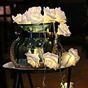 povoljno LED svjetla u traci-3m ručne lampice od 20 leda tople bijele svadbene kuće ukrasne aa baterije napajane 1 set