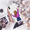 povoljno iPhone maske-Θήκη Za Apple iPhone XS / iPhone XR / iPhone XS Max Uzorak Stražnja maska Crtani film Mekano TPU
