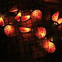 povoljno LED svjetla u traci-3m svjetiljke s svježim voćem lubenice 20 svjetlosnih lampica narančaste spavaće sobe ukrasne baterije napajaju se 1set
