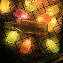 povoljno LED svjetla u traci-3M Žice sa svjetlima 20 LED diode Više boja Ukrasno AA baterije su pogonjene 1set