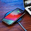 povoljno Zidni ukrasi-Joyroom Bežični punjač USB punjač USB Bežični punjač / Qi 1 USB port 1 A / 2 A DC 9V / DC 5V za iPhone X / iPhone 8 Plus / iPhone 8