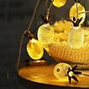 povoljno LED svjetla u traci-3m svjetla od voća od ananasa 20 svjetla toplih bijelih ukrasnih aa baterija 12v 1set