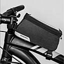 ieftine Genți Bicicletă-1.2 L Genți Cadru Bicicletă Impermeabil Portabil Purtabil Geantă Motor 600D Poliester Geantă Biciletă Geantă Ciclism Exerciții exterior Bicicletă