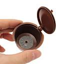economico Orecchini-ABS + PC Cucina creativa Gadget Caffè Irregolare 1pc Filtro per caffè