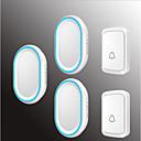 povoljno Broševi-Bez žice Dva do tri vrata Glazba Non-visual doorbell Montirano na površini