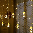 povoljno LED svjetla u traci-2.5m Žice sa svjetlima 138 LED diode Toplo bijelo Ukrasno 220-240 V 1set