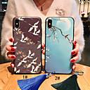 رخيصةأون أغطية أيفون-غطاء من أجل Apple iPhone XS / iPhone XR / iPhone XS Max مثلج / نموذج / اصنع بنفسك غطاء خلفي حيوان / زهور ناعم TPU