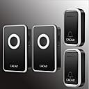 povoljno Broševi-Bez žice Dva do dva vrata Glazba / Ding Dong Non-visual doorbell