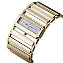 voordelige Galaxy J7(2017) Hoesjes / covers-ASJ Dames Dress horloge Square Watch Japans Japanse quartz Zilver / Goud Vrijetijdshorloge Analoog Luxe minimalistische - Goud Zilver Een jaar Levensduur Batterij / SSUO SR626SW + CR2025