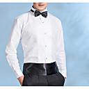 رخيصةأون ربطات العقدة-رجالي مناسب للحفلات قياس كبير قميص, لون سادة ياقة كلاسيكية نحيل / كم طويل